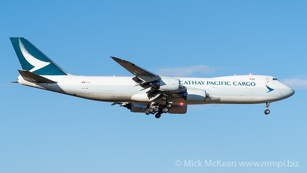MMPI_20210309_MMPI0078_0004 - Cathay Pacific Cargo Boeing 747-867(F) B-LJB on approach to Wellcamp (YBWW) ex Melbourne (YMML) with anti-collision lights lit.