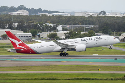 MMPI_20210403_MMPI0078_0012 - Qantas Boeing 787-9 Dreamliner VH-ZNF as flight QF15 takes off from brisbane (YBBN) en route for Los Angelese (KLAX).