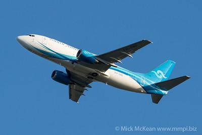 MMPI_20210520_MMPI0078_0011 - Nauru Airlines Boeing 737-3U3(SF) VH-ONU takes off from Brisbane (YBBN).