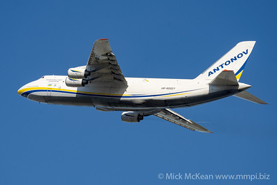 MMPI_20210520_MMPI0078_0025 - Antonov Design Bureau Antonov An-124-100M UR-82027 Ruslan takes off from Brisbane (YBBN) en route to Honolulu (PHNL). The aircraft was transporting two ex-RAAF F/A-18A Hornet fighters bound for RCAF service.