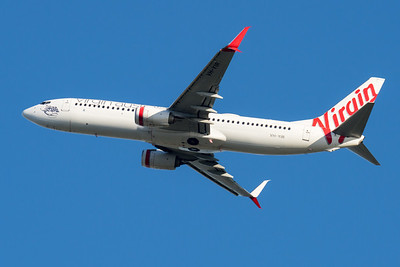 "MMPI_20210520_MMPI0078_0013 - Virgin Australia Boeing 737-8FE VH-YIR ""Cactus Beach"" takes off from Brisbane (YBBN)."