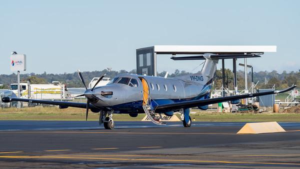 MMPI_20210704_MMPI0078_0007 -  Pilatus PC-12/47 VH-DNG parked at Archerfield Airport (YBAF).