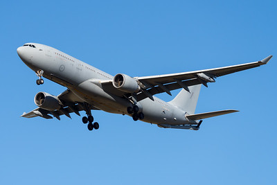 MMPI_20210724_MMPI0085_0011 - Royal Australian Air Force Airbus KC-30A A39-001 on approach to Amberley (YAMB) after a tanking mission as part of exercise Talisman Sabre 2021.
