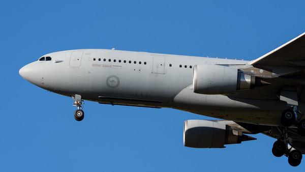 MMPI_20210724_MMPI0085_0012 - Royal Australian Air Force Airbus KC-30A A39-001 on approach to Amberley (YAMB) after a tanking mission as part of exercise Talisman Sabre 2021.