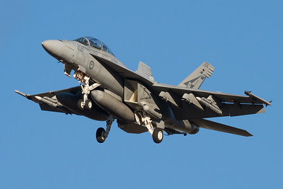 MMPI_20210724_MMPI0085_0016 - Royal Australian Air Force Boeing F/A-18F Super Hornet A44-206 on approach to RAAF Amberley (YAMB) after a mission as part of exercise Talisman Sabre 2021.