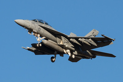 MMPI_20210724_MMPI0085_0017 - Royal Australian Air Force Boeing F/A-18F Super Hornet A44-206 on approach to RAAF Amberley (YAMB) after a mission as part of exercise Talisman Sabre 2021.