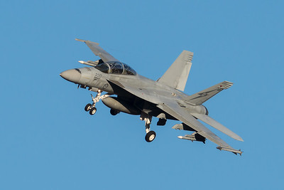 MMPI_20210724_MMPI0085_0018 - Royal Australian Air Force Boeing F/A-18F Super Hornet A44-220 on approach to RAAF Amberley (YAMB) after a mission as part of exercise Talisman Sabre 2021.
