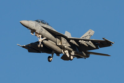 MMPI_20210724_MMPI0085_0021 - Royal Australian Air Force Boeing F/A-18F Super Hornet A44-203 on approach to RAAF Amberley (YAMB) after a mission as part of exercise Talisman Sabre 2021.