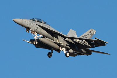MMPI_20210724_MMPI0085_0022 - Royal Australian Air Force Boeing F/A-18F Super Hornet A44-203 on approach to RAAF Amberley (YAMB) after a mission as part of exercise Talisman Sabre 2021.