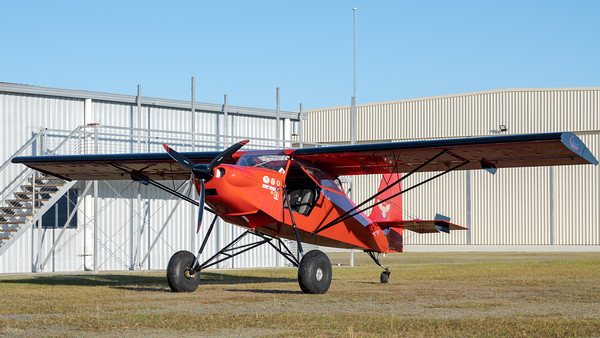 _7R40156 -  Just Aircraft SuperSTOL 19-8831 parked.