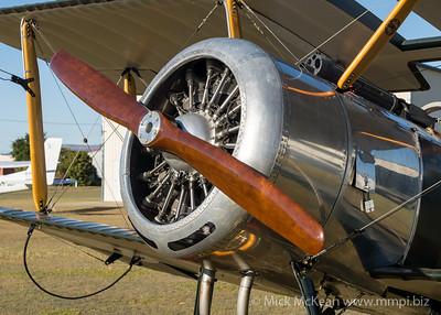 MMPI_20210727_MMPI0086_0008 -  Sopwith Pup (replica) N8649 engine close-up.