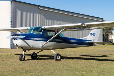 MMPI_20210727_MMPI0086_0069 -  Cessna 150G VH-RXH parked.