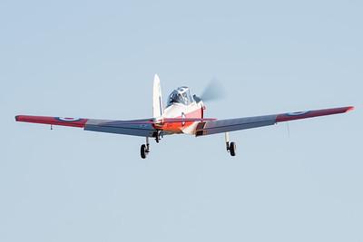 MMPI_20210919_MMPI0078_0005 -  De Havilland Canada DHC-1 T.10 Chipmunk VH-JHN takes off from Gatton Airpark (YGAS).