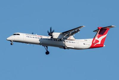 _7R47545 - QantasLink Bombardier Q400 VH-LQL as flight QLK527D on approach to Brisbane (YBBN) ex Proserpine (YBPN).