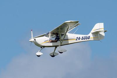 _7R49591 -   Eurofox 3K 24-5350 on approach to Archerfield (YBAF).