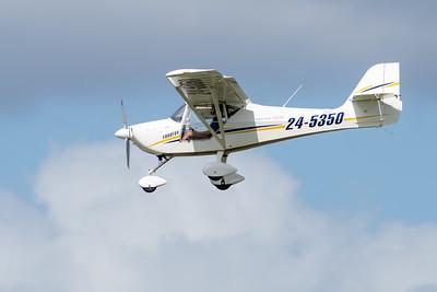 _7R49593 -   Eurofox 3K 24-5350 on approach to Archerfield (YBAF).