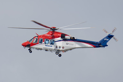 MMPI_20200815_MMPI0063_0001 - QGAir AgustaWestland AW139 VH-ESZ as callsign RSCU500 in flight.