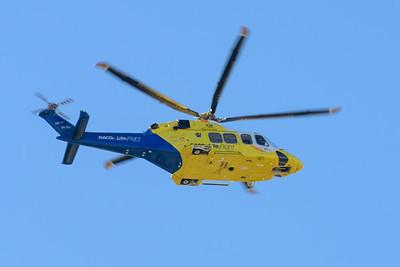 MMPI_20200715_MMPI0063_0004 - RACQ LifeFlight AgustaWestland AW139 VH-XIJ as RSCU599 takes off from Brisbane (YBBN) en route for Archerfield (YBAF).
