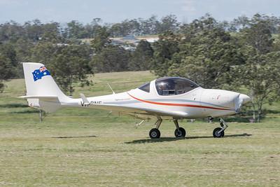 MMPI_20210411_MMPI0078_0108 -  Aquila A211 VH-BNE takes off at Auster Meet April 2021.