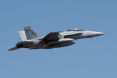 MMPI_20201001_MMPI0063_0016 - Royal Australian Air Force Boeing F/A-18F Super Hornet A44-213 climbing after takeoff.