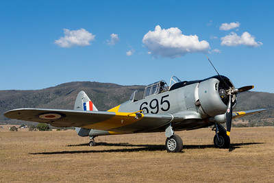 MMPI_20201016_MMPI0075_0097 -  CAC CA-16 Wirraway VH-MFW parked at Red Thunder TFC 2020.