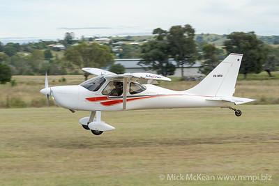 MMPI_20210220_MMPI0079_0029 -  Glasair GlaStar GS-1 VH-MEV landing at the Airsport Qld breakfast fly-in.