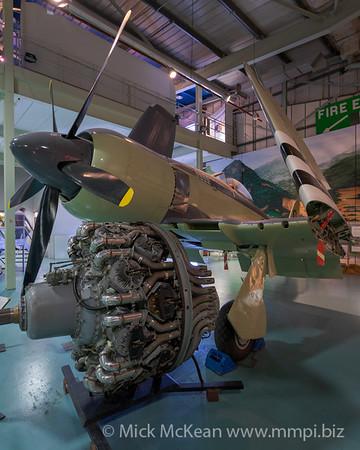 MMPI_20180928_MMPI0051_0016 -  Hawker Sea Fury FB.11 WJ231 on display at the Royal Navy Fleet Air Arm Museum.
