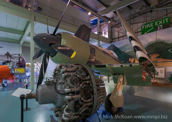 MMPI_20180928_MMPI0051_0015 -  Hawker Sea Fury FB.11 WJ231 on display at the Royal Navy Fleet Air Arm Museum.
