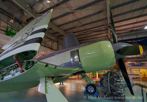 MMPI_20180928_MMPI0051_0018 -  Hawker Sea Fury FB.11 WJ231 on display at the Royal Navy Fleet Air Arm Museum.