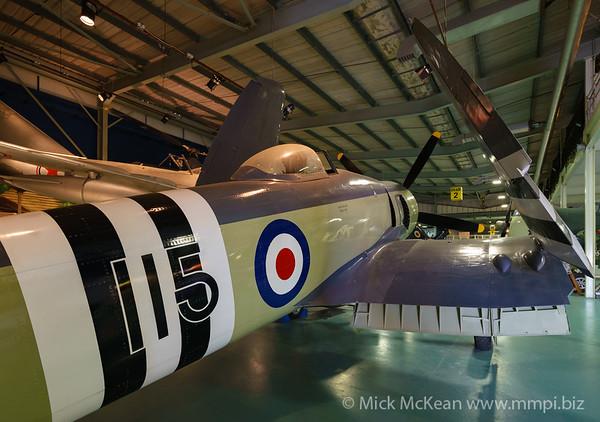 MMPI_20180928_MMPI0051_0019 -  Hawker Sea Fury FB.11 WJ231 on display at the Royal Navy Fleet Air Arm Museum.
