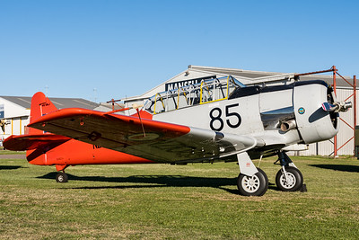 MMPI_20210516_MMPI0082_0222 -  North American AT-6D Texan VH-SNJ on static display at David Hack Classic 2021 fly-in event.
