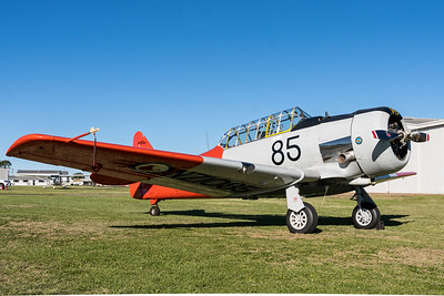 MMPI_20210516_MMPI0082_0198 -  North American AT-6D Texan VH-SNJ on static display at David Hack Classic 2021 fly-in event.
