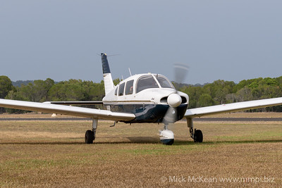 MMPI_20200111_MMPI0063_0048 -  Piper PA-28-181 Archer II VH-NRB taxiing at Great Eastern Fly-In 2020.