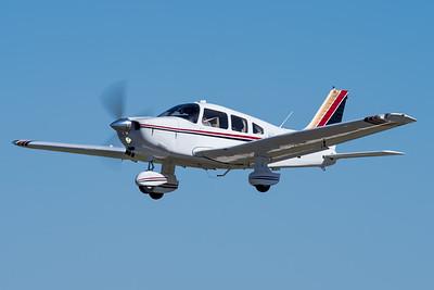 MMPI_20210516_MMPI0082_0133 -  Piper PA-28-236 Dakota VH-AJB takes off at David Hack Classic 2021 fly-in event.