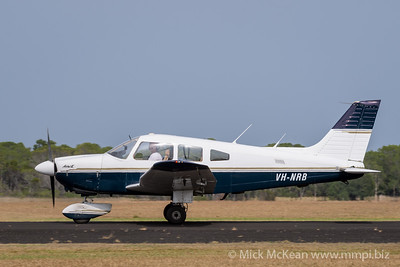 MMPI_20200111_MMPI0063_0046 -  Piper PA-28-181 Archer II VH-NRB taxiing at Great Eastern Fly-In 2020.