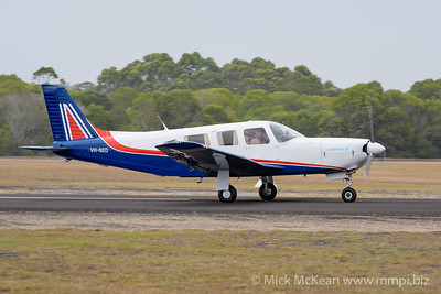 MMPI_20200111_MMPI0063_0116 -  Piper PA-32R-301 Saratoga SP VH-NED landing at Great Eastern Fly-In 2020.