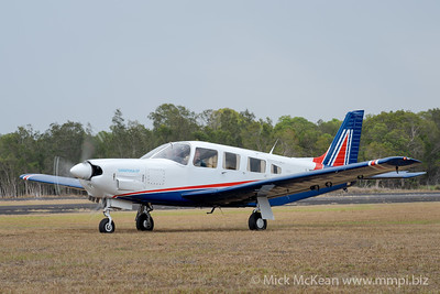 MMPI_20200111_MMPI0063_0114 -  Piper PA-32R-301 Saratoga SP VH-NED taxiing at Great Eastern Fly-In 2020.