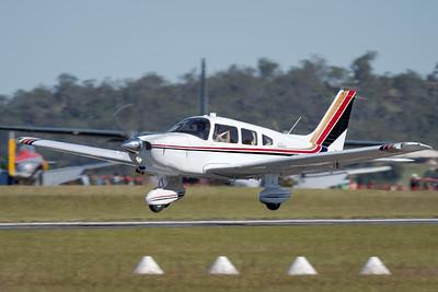 MMPI_20210516_MMPI0082_0078 -  Piper PA-28-236 Dakota VH-AJB takes off at David Hack Classic 2021 fly-in event.