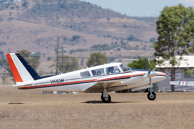 MMPI_20201016_MMPI0075_0049 -  Piper PA-30 Twin Comanche VH-EQM takes off during Red Thunder TFC 2020.