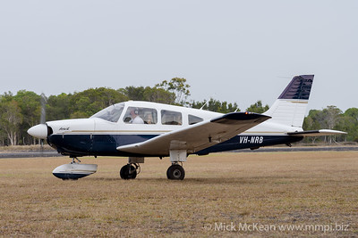 MMPI_20200111_MMPI0063_0059 -  Piper PA-28-181 Archer II VH-NRB taxiing at Great Eastern Fly-In 2020.