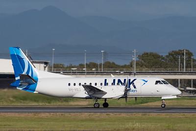 MMPI_20201126_MMPI0063_0015 - Link Airways Saab 340B VH-VEO takes off from Brisbane (YBBN).