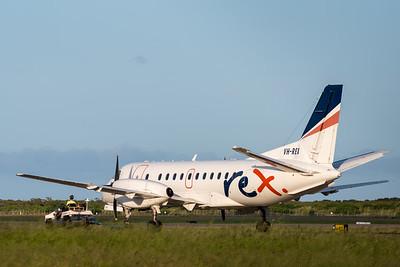 MMPI_20200202_MMPI0063_0056 - Regional Express Saab 340B VH-REX under tow at Brisbane Airport (YBBN).