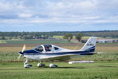 MMPI_20200308_MMPI0065_0100 -  Tecnam P2002 Sierra 24-4651 landing at 2020 Clifton fly-in.