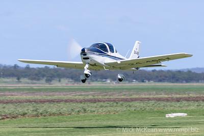 MMPI_20200308_MMPI0065_0197 -  Tecnam P2002 Sierra 24-4651 takes off from 2020 Clifton fly-in.