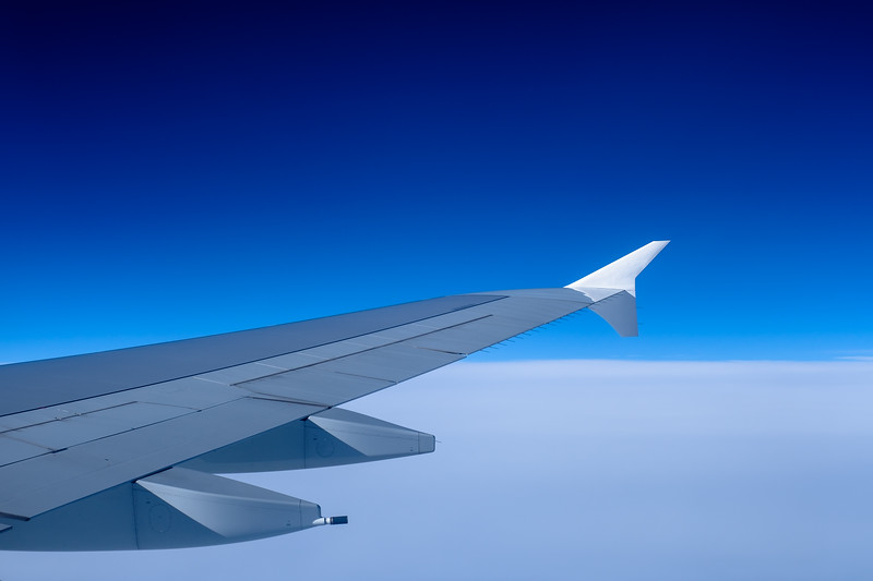 A380 wing from the Lounge