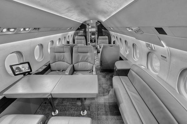 Falcon 2000 Cabin