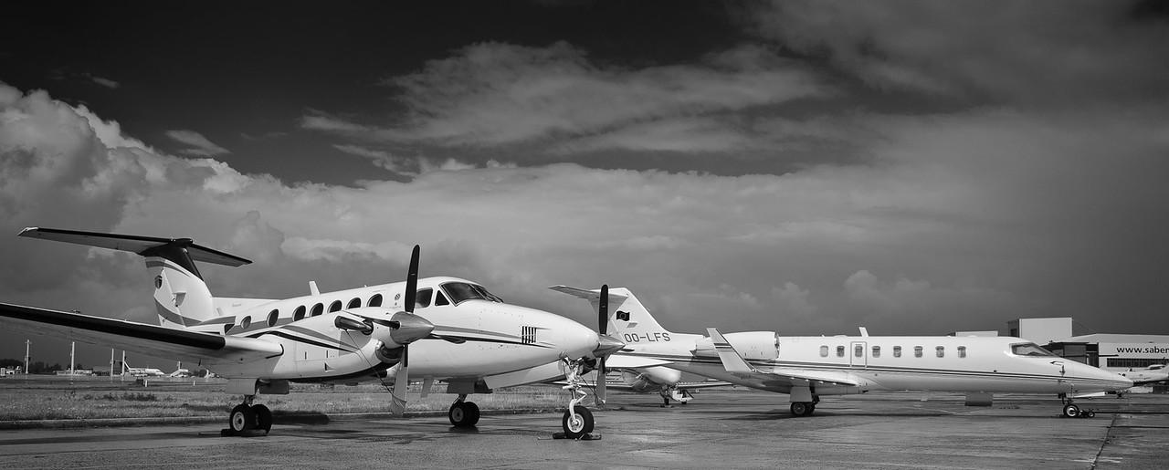 Beechcraft King-Air & Learjet 45