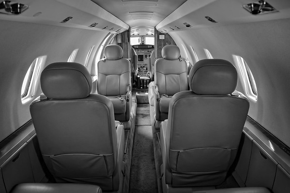 Cessna Citation Excel cabin