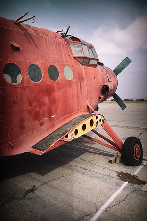 AN-2 with clipped wings and clipped prop; Chino, CA
