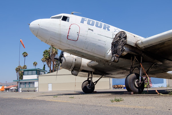 Four Star DC-3 at Flabob airport, CA (USA)